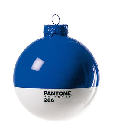 Bola de navidad Pantone de cristal ø 8 cm