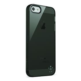 Funda tpu translucida negra para iPhone 5