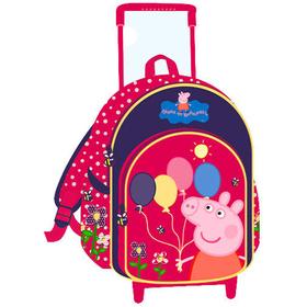 Mochila Trolley Globos Peppa Pig
