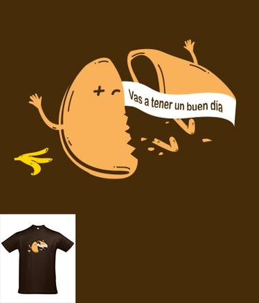 Camiseta Galleta de la mala suerte