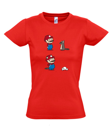 Camiseta Mario Super Mapache