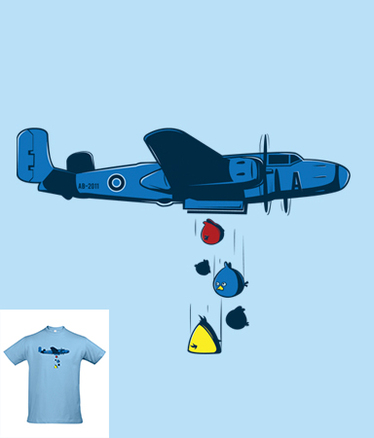 Camiseta Pájaros de guerra