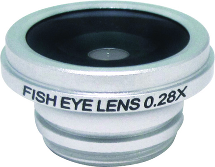 Rollei lente fisheye plata iPhone 4-4S