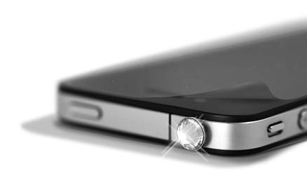 Crystal Pin Transparente AppleiPhone 5 y Protector de Pantalla