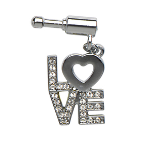 Pin para iPhone y smartphone con palabra Love