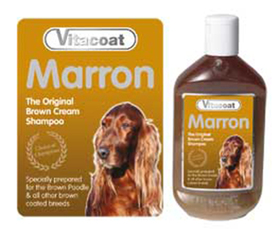 Vitacoat marron (pelo marrón)