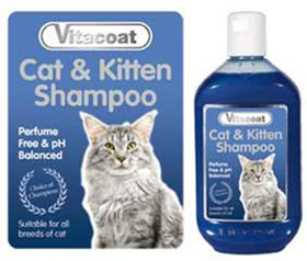 Vitacoat cat and kitten shampoo (gatos)