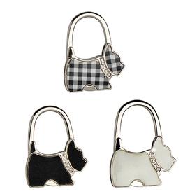 Colgador de bolsa con forma de perro