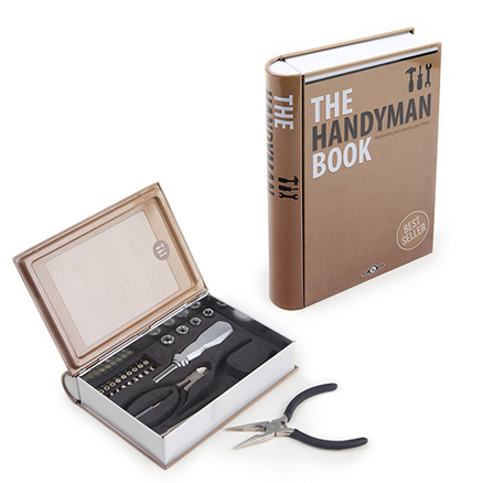 Set herramientas The Handyman Book lata