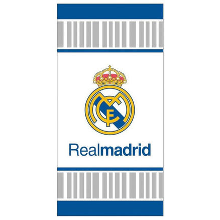 Toalla Real Madrid fondo blanco