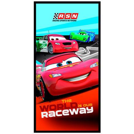 Toalla Cars Disney Raceway