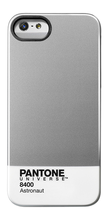 Carcasa trasera Pantone universe para iPhone 5 Astronaut de color gris
