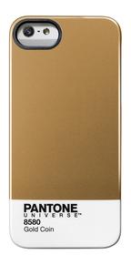 Carcasa trasera Pantone universe para iPhone 5 Gold coin dorada