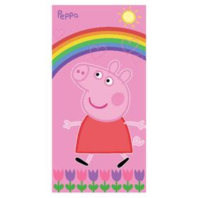 Toalla Peppa Pig Arco Iris 75x150cm