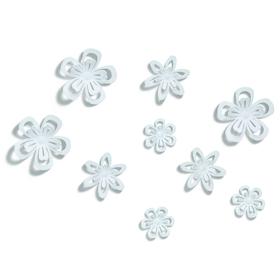 Flores adhesivas BLOOMA para la pared (6 unidades)