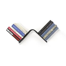 Estantería invisible para libros con forma L