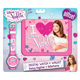 Set reloj y billetera Violetta Disney