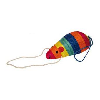 Raton cuerda (juguete para gatos)