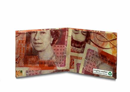Cartera Mighty Wallet Libra Esterlina