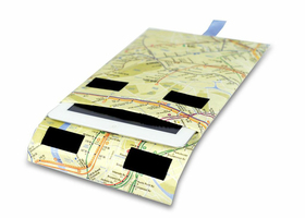 Funda Ipad Mighty Wallet Mapa Del Metro De New York