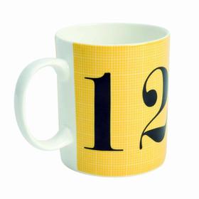 Mug Eames taza grande números