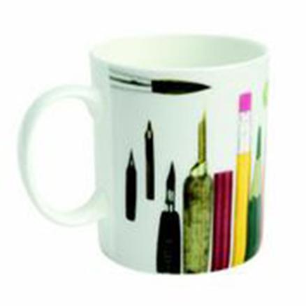 Mug Eames taza grande lápices y bolis