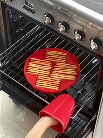 Molde de silicona para hacer palitos Sticks de color rojo