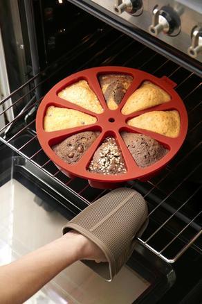 Molde de siliciona Cake Portion (8 cavidades)