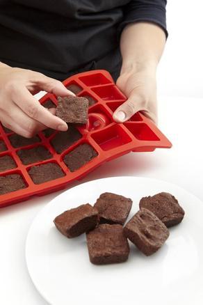Molde de silicona mini brownies (24 cavidades)