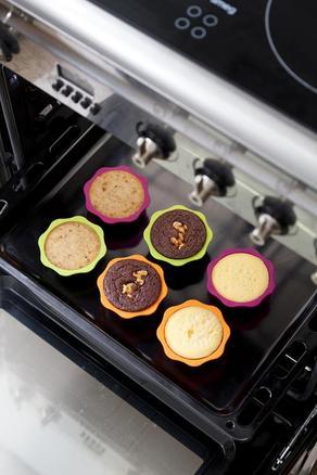 Deco minicake Set Garden (6 moldes + 1 decopen)
