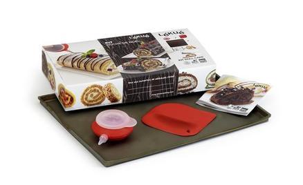 Kit Roll Cake para preparar fácilmente enrollados