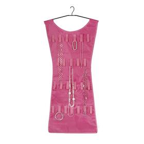 Joyero en forma de vestido rosa (organizador de joyas)