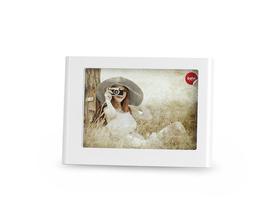 Marco de fotos Odyssey para 1 foto 13x18 de color blanco