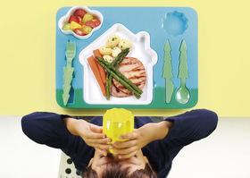 Bandeja para niños Landscape Dinner Set