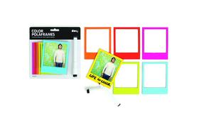 Marco de fotos magnético con forma de polaroid Polaframes de colores