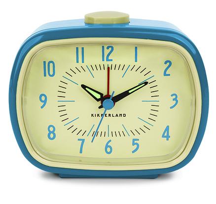 Reloj con alarma retro