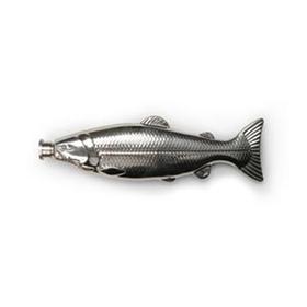 Petaca con forma de pescado