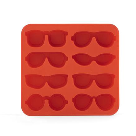 Molde hielos gafas