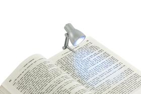 Luz lectura Little Lamp plateado utiliza 3 pilas AG3 incluidas incl.