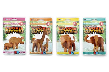 Safari moldes cortador galletas
