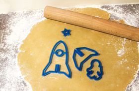 Space moldes cortador galletas