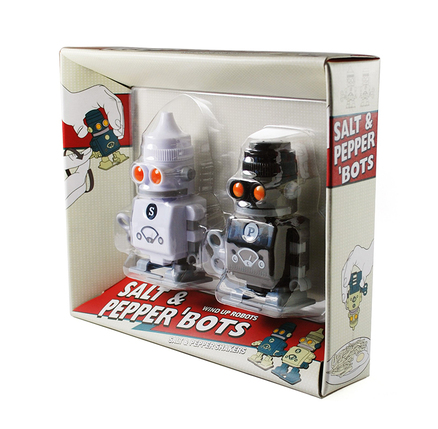 Salero pimentero robot