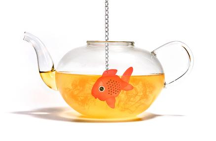 Infusor de té en forma de pez