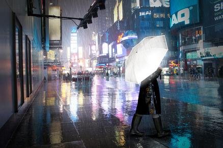 Paraguas adulto reflectante