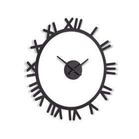 Reloj de pared Tima de color negro