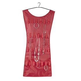 Joyero en forma de vestido rojo (organizador de joyas)