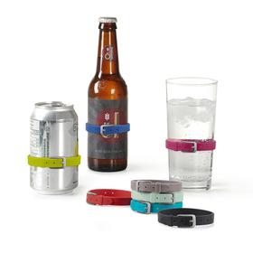 Marcadores de copas o botellas con forma de cinturón (8 unidades)