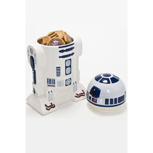 Galletero Star Wars R2D2 3D de ceramica con tapa