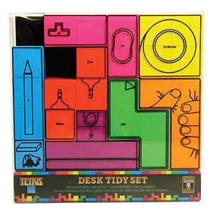 Tetris set 7 piezas organizador escritorio