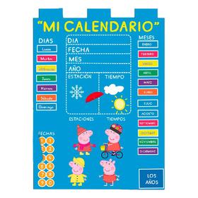 Calendario didactico Peppa Pig